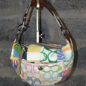 COACH bag patchwork hobo L0673-10441